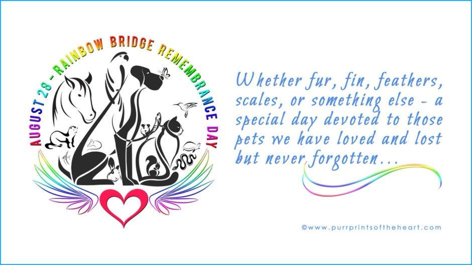 Rainbow Bridge Remembrance Day logo
