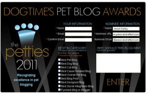 Please Help Us Win A Pettie Award!