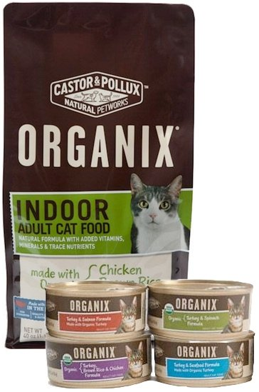 Castor And Pollux Organix Cat Food Reviews