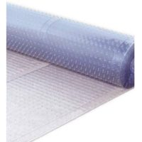 Plastic carpet runners turned upside down can help put an end to counter surfing.