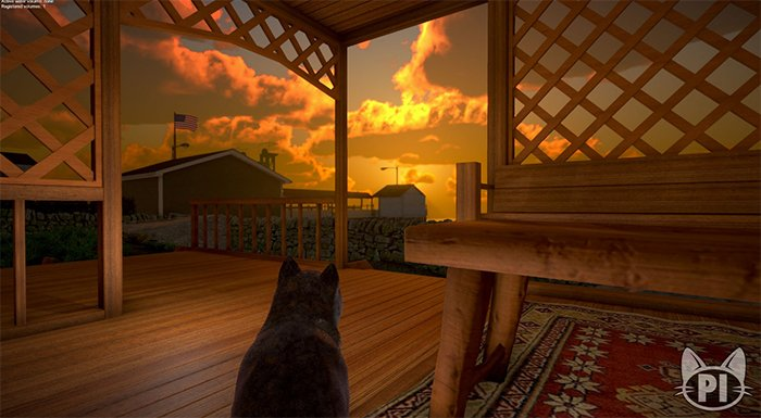 Peace Island Lets You Walk Through Life As a Cat