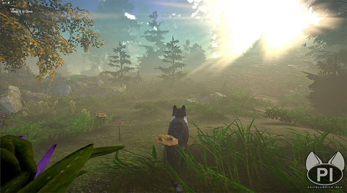In Peace Island, the player gets to know, and control, each of nine different cats with their own personalities.