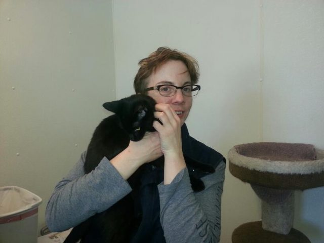 January 5, 2013: Mama holds Bella just before signing the adoption paperwork and bringing her home.